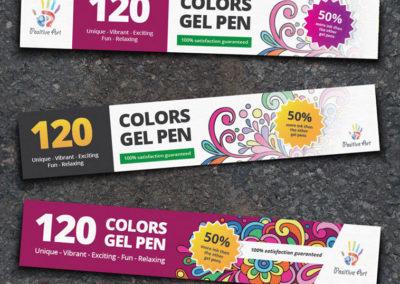 Gel Pen Label