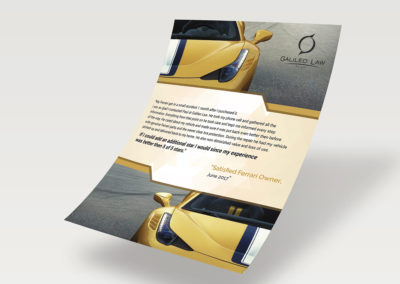 Print Design for Law firm